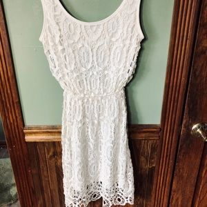Lauren Conrad White Sundress